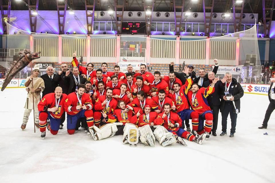 Medalie de aur pentru echipa României la Campionatul Mondial de Seniori, Divizia II, Grupa A, Galați 3 – 9 aprilie 2017