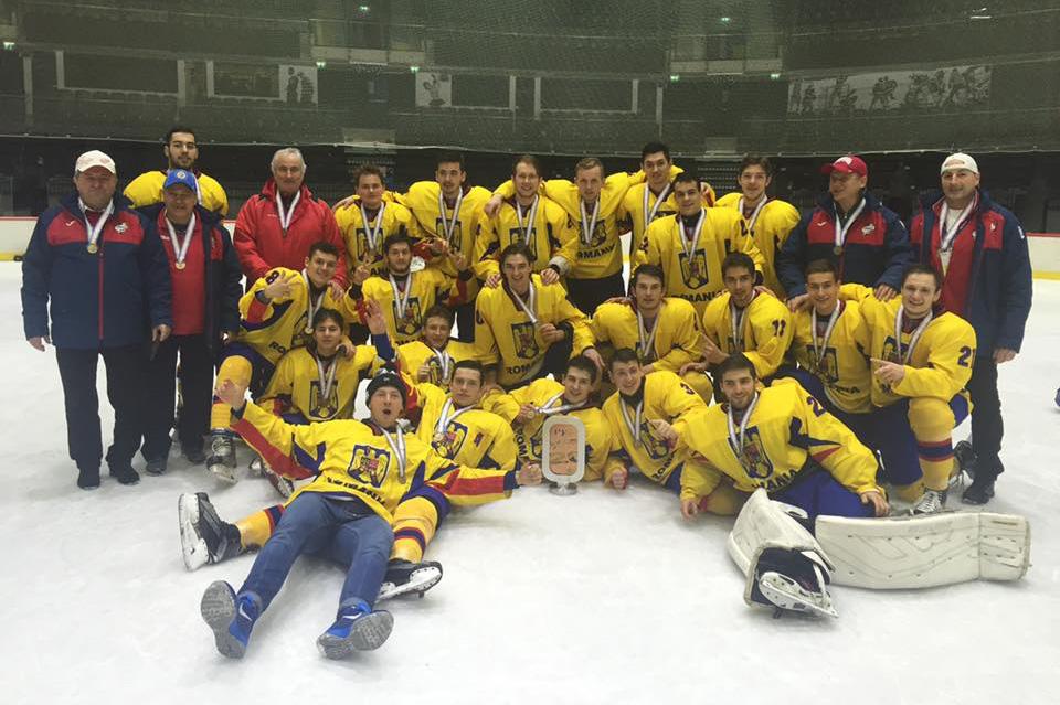 Medalie de bronz pentru România la Campionatul Mondial de Tineret U20, Divizia II, Grupa A, Tallinn, Estonia 11 – 17 decembrie 2016